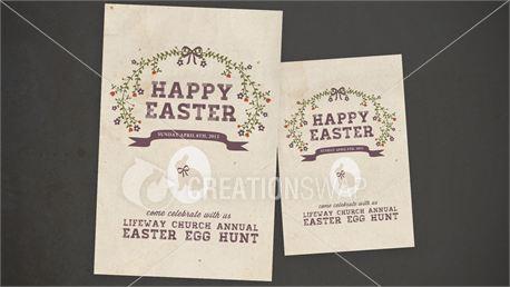 Easter Egg Hunt Postcards (13101)