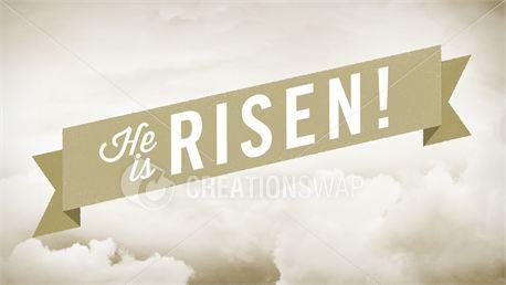 He Is Risen Slides (13129)