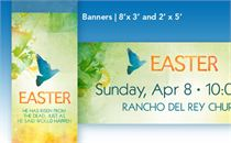 Easter Peace - Banners