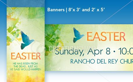 Easter Peace - Banners (13204)