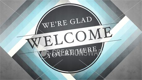 Welcome To Church Graphic (13275)