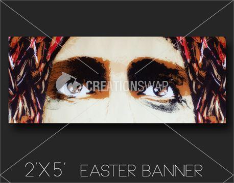 Lamb of God 2x5 Easter banner (13350)