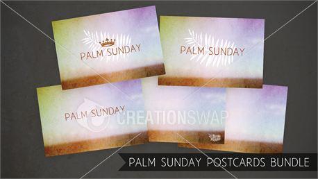 Palm Sunday Postcards (13532)