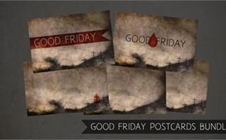 Good Friday Postcards