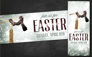 Easter Cross | Banners