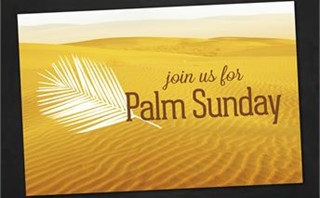 Palm Sunday | Postcards