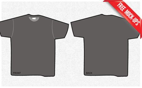 T-Shirt Mock-Up (13635)