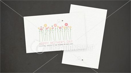 Mother's Day Invitation Cards (14072)