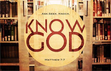 Know God (14330)
