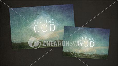 Finding God Postcards (14377)