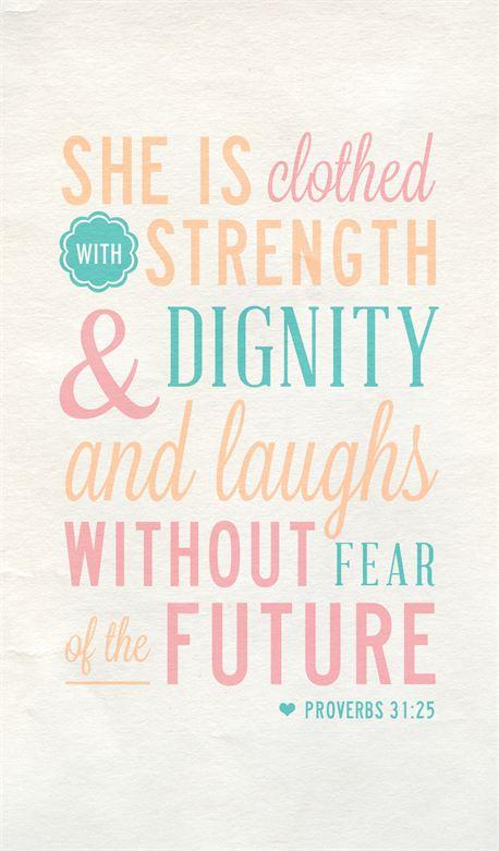 Proverbs 31:25 (14573)