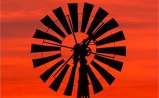 Sunrise Windmill