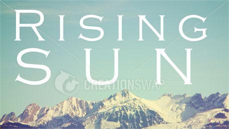 Rising Sun (14956)