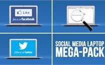 Social Media Laptop - Megapack