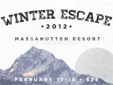 Winter Retreat PSD (15014)