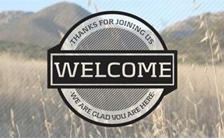 Welcome Badge Slides