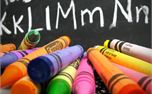 Chalkboard and school supplies (15480)