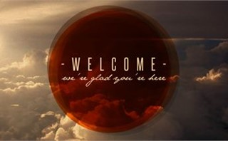 Welcome - Clouds and Circles