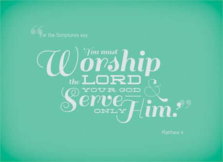 Serve Only Him (15697)