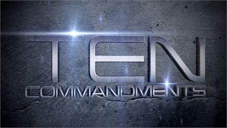 Ten Commandments Slides (16009)