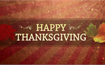 Happy Thanksgiving Motion (16839)
