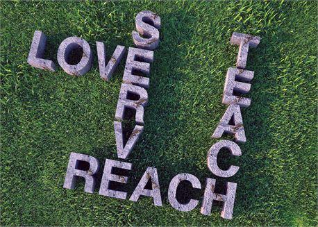 Love, Serve, Reach and Teach (16913)
