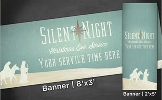 Silent Night | Banners