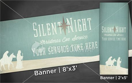 Silent Night | Banners (17061)