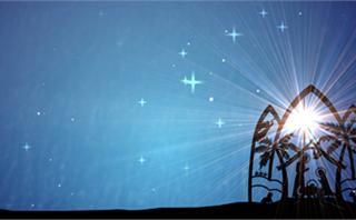 Christmas Nativity Background