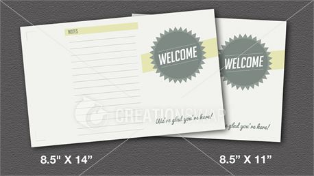 Welcome (Bulletin) (17127)