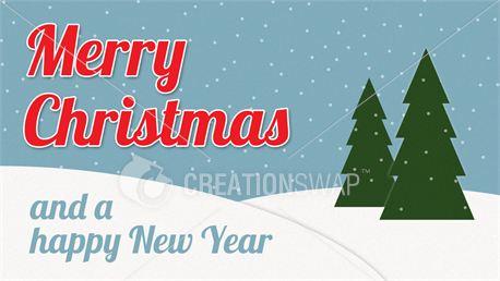 Retro Merry Christmas (Slides) (17493)