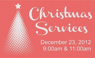Christmas Services (Slide)