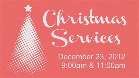 Christmas Services (Slide) (17548)