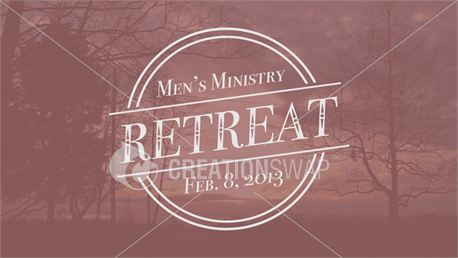 Men's Retreat (Slide Bundle) (17553)
