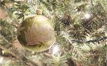 Green Christmas Ornament  (17643)