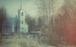 Country Church Winter