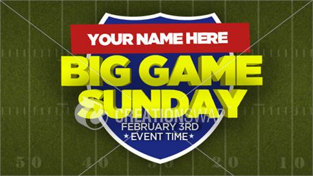 Big Game Sunday (18004)