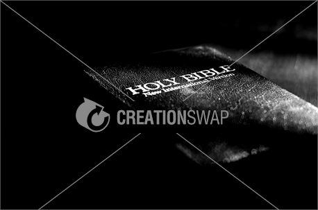 Bible (Black & White) (18085)