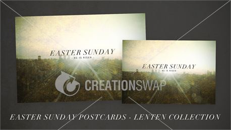 Easter Sunday Postcards (18563)