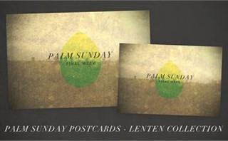 Palm Sunday Postcards