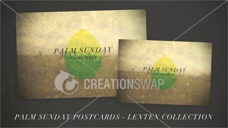 Palm Sunday Postcards (18565)