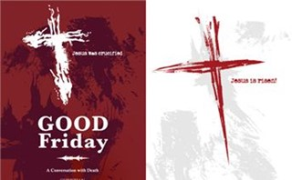 Good Friday and Easter Banners