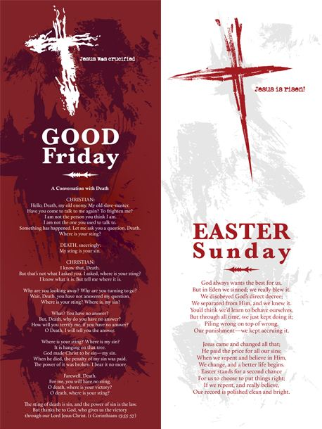 Good Friday and Easter Banners (19030)