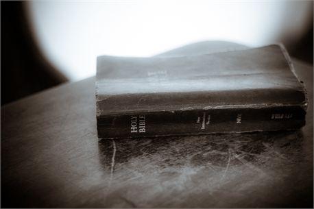 Worn Bible (19194)