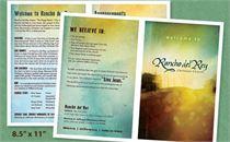 Sunrise City Bulletin 8.5 x 11