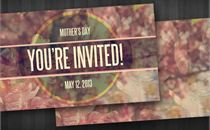 Mother's Day Invite Cards