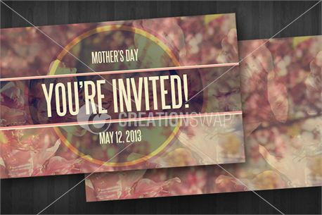 Media Mothers Day Invite Cards – Mothers Day Invitation Cards