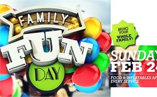 Family Fun Day Screen