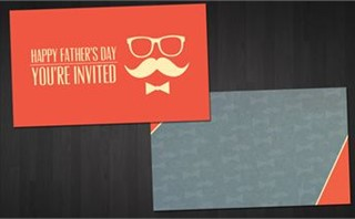 Father's Day Invitation Cards
