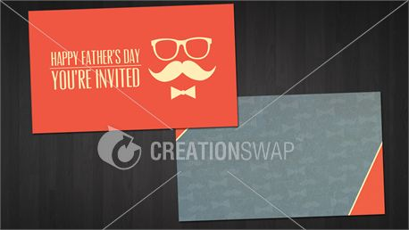 Father's Day Invitation Cards (19874)